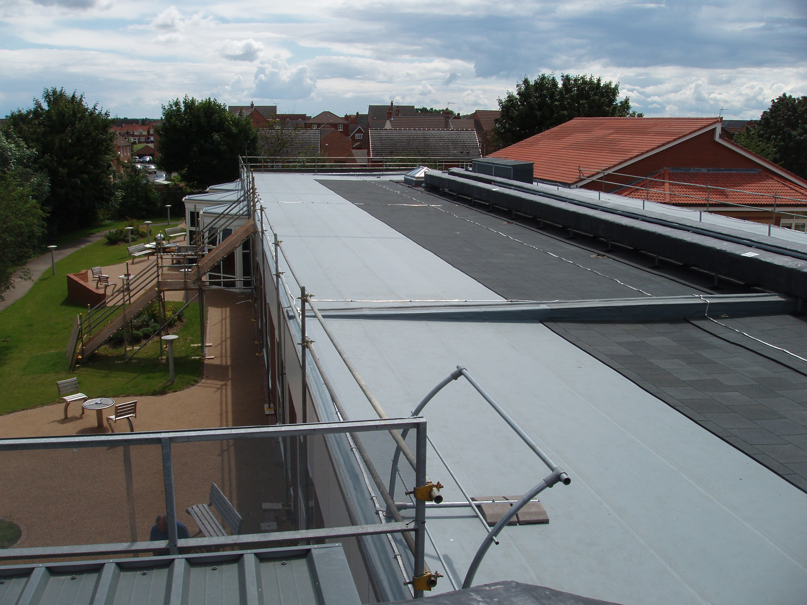 Industrial Roofing Contractors Leamington Rehabilitation
