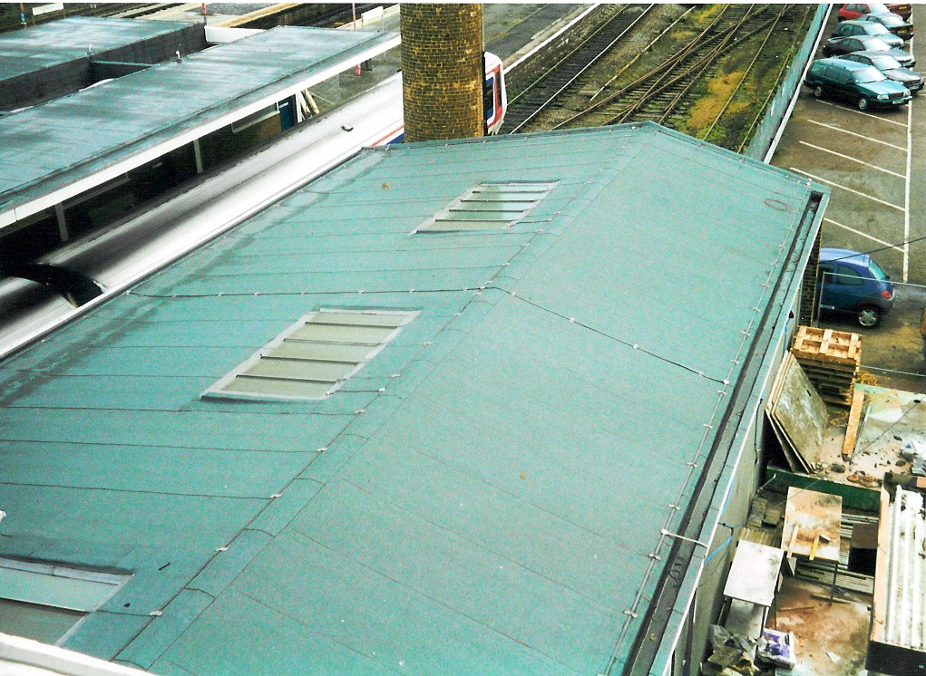 Local Roofers Nuneaton Case Study Banbury Rail Station